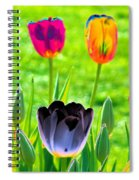 Tulips - Perfect Love - Photopower 2168 Spiral Notebook