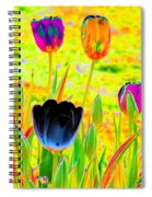 Tulips - Perfect Love - Photopower 2169 Spiral Notebook