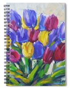 Tulips Time Love The Spring By Prankearts Spiral Notebook