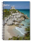 Tulum - Mayan Temple Spiral Notebook