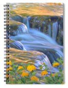 Tumbling Waters Spiral Notebook
