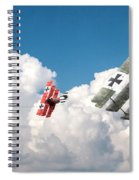 Tumult In The Clouds Spiral Notebook