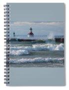 Tumultuous Lake Spiral Notebook