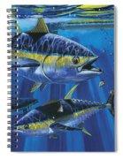 Tuna Blitz Off0039 Spiral Notebook
