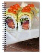 Tuna Sushi With Caviar  Spiral Notebook