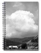 Tunbridge Vermont Storm Cloud Open Edition Spiral Notebook