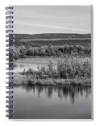 Tundra Pond Reflections Spiral Notebook