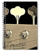 Fender Precision Bass Spiral Notebook