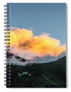 Tungurahua Blowing Off Steam Spiral Notebook