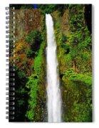 Tunnel Falls   Spiral Notebook