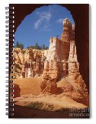 Tunnel In Bryce Spiral Notebook