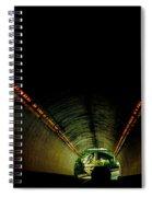 Tunnel In Colorado  Spiral Notebook