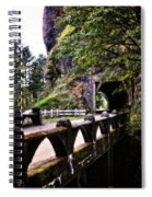 Tunnel In The Mountain Spiral Notebook