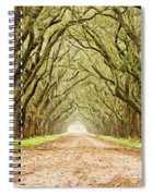 Tunnel In The Trees Spiral Notebook
