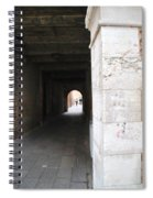 Tunnel In Venice Spiral Notebook