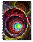 Tunnel Of Lights Spiral Notebook