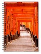 Tunnel Of Torii Gates, Fushimi Inari Spiral Notebook