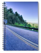 Tunnel Through Mountains On Blue Ridge Parkway In The Morning Spiral Notebook