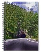 Tunnel Thru The Mountain Spiral Notebook
