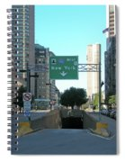 Tunnel To New York 2929 Spiral Notebook