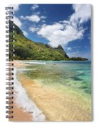 Tunnels Beach Bali Hai Point Spiral Notebook
