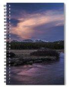 Tuolumne Meadows Sunset Spiral Notebook