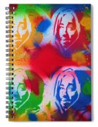 Tupac V Warhol Spiral Notebook