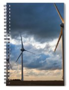 Turbines Spiral Notebook