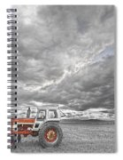 Turbo Tractor Superman Country Evening Skies Spiral Notebook