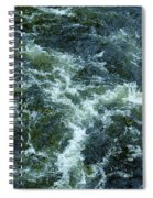 Turbulance At Loch Ness Spiral Notebook