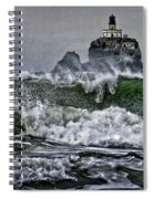 Turbulent Waters Spiral Notebook