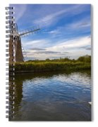 Turf Fen Drainage Mill Spiral Notebook