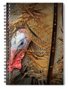 Turkey And Feathers Spiral Notebook