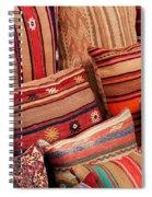 Turkish Cushions 02 Spiral Notebook