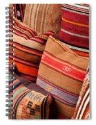 Turkish Cushions 03 Spiral Notebook