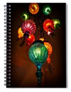 Turkish Lights Spiral Notebook