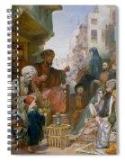 Turkish Street Scene Spiral Notebook