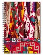 Turkish Textiles 03 Spiral Notebook