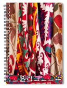 Turkish Textiles 04 Spiral Notebook