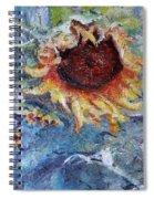 Turn Of Summer Spiral Notebook