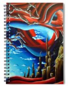 Turn Of The Dreamscape Spiral Notebook