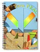 Turn Peace Around 2 Spiral Notebook