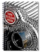 Turn To Clear Spiral Notebook