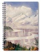 Turnagain Tidal Patterns Spiral Notebook