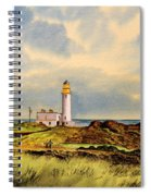 Turnberry Golf Course 9th Tee Spiral Notebook