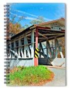 Turner's Covered Bridge Vignette Spiral Notebook