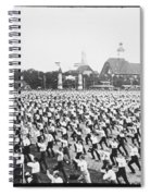 Turnfest Gymnastic Festival Hamburg Germany 1903 Spiral Notebook