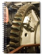 Turning Gear Engine Room Queen Mary 02 Spiral Notebook