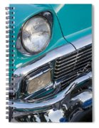 Turquoise 1956 Belair Spiral Notebook