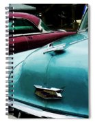 Turquoise Bel Air Spiral Notebook